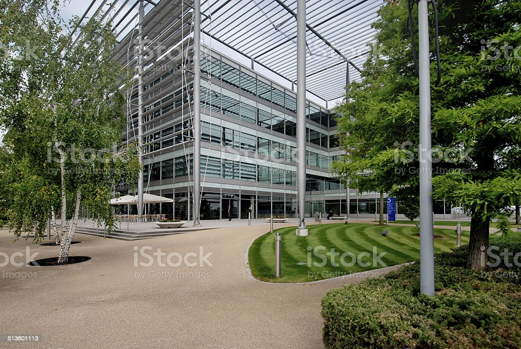 Business park stock photo
