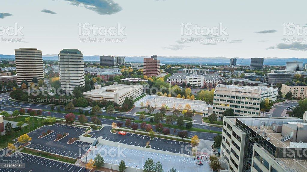 Business park stock photo