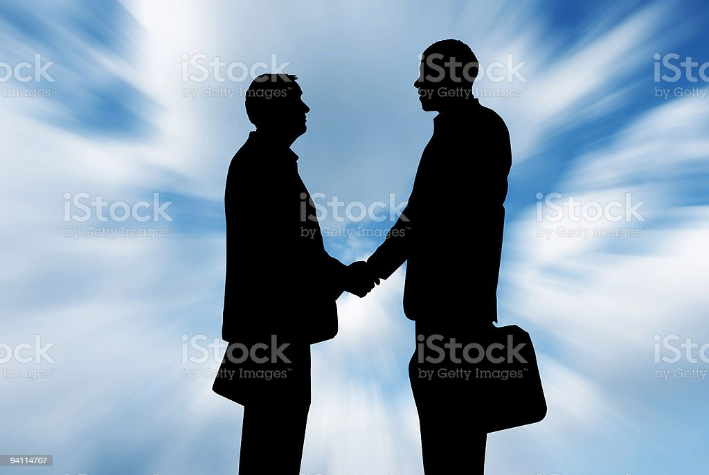 business parnership royalty-free stock photo