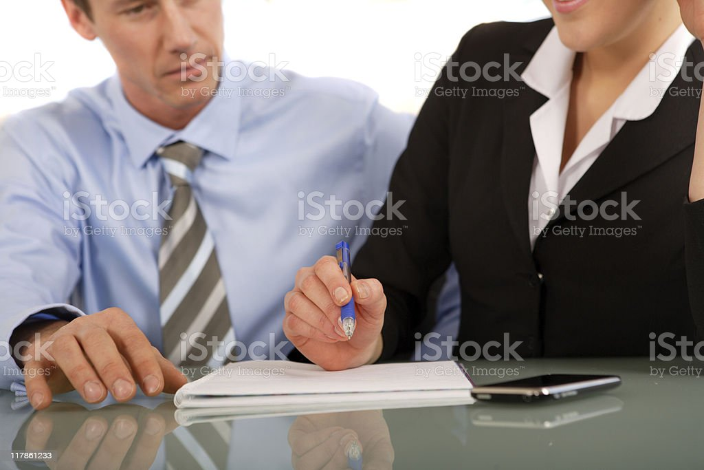 Business Partner royalty-free stock photo