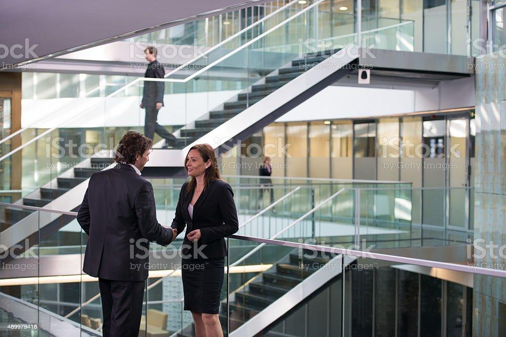 Business Partner Shaking Hands stock photo