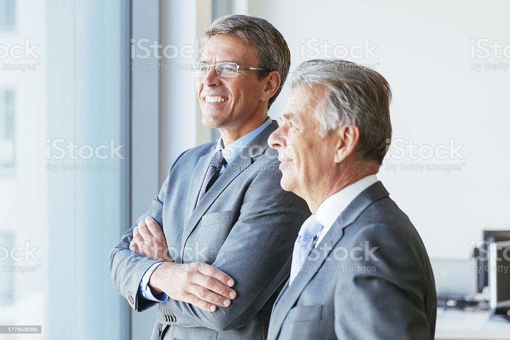 Business Partners Forecasting stock photo