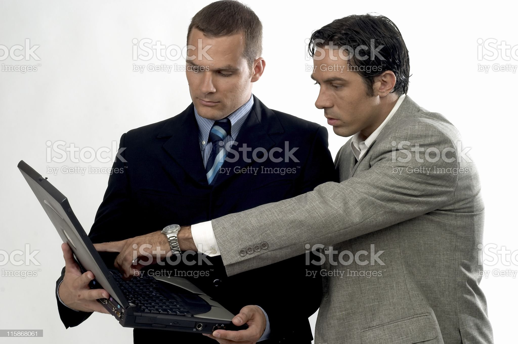 Business Partners in Meeting 02 royalty-free stock photo