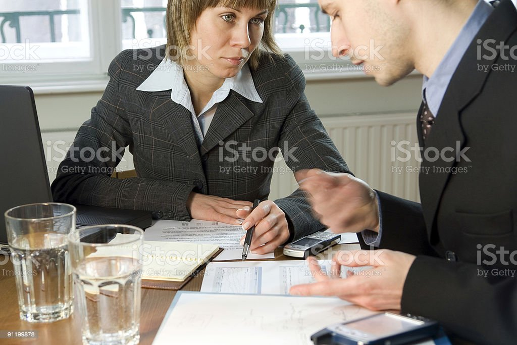 Business Partners Meeting royalty-free stock photo