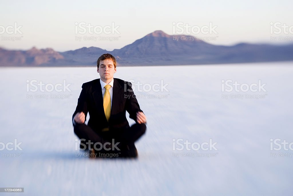 Business Peace royalty-free stock photo