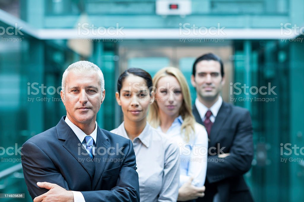 Business people close-up stock photo