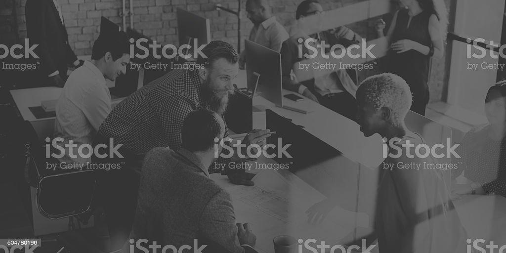 Business People Design Architecture Ideas Concept stock photo