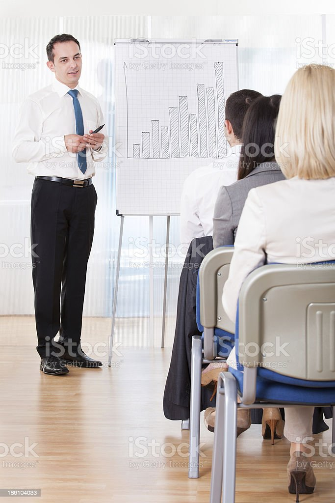 Business People Discussing New Project royalty-free stock photo