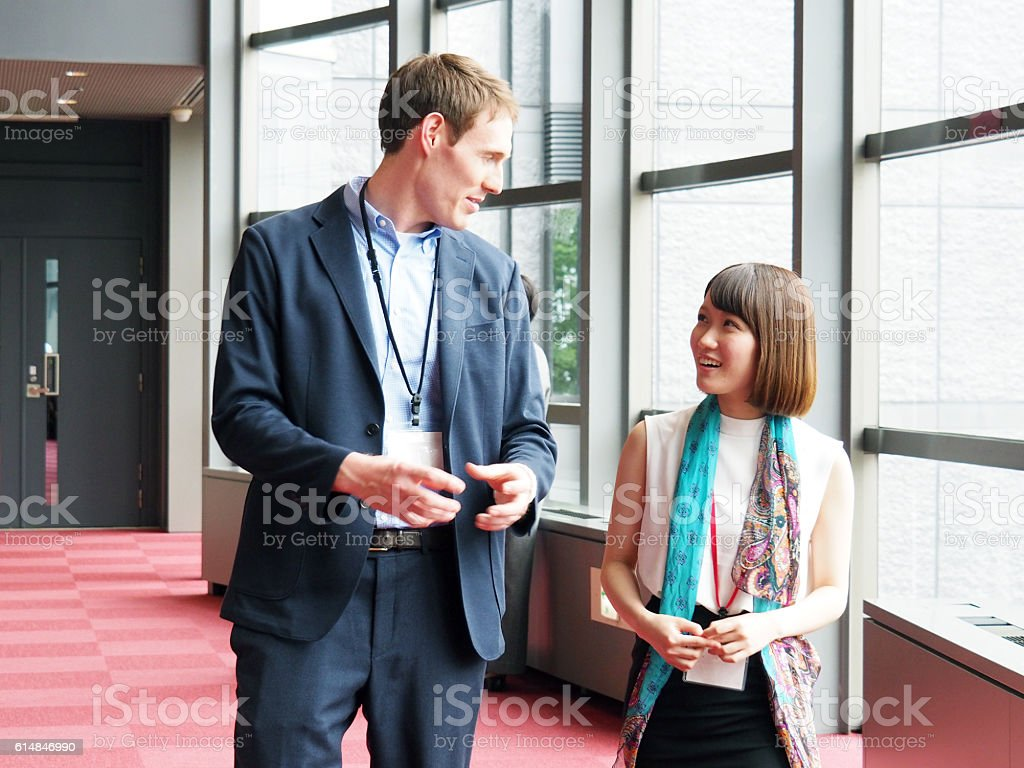 Business People, Good Colleague stock photo