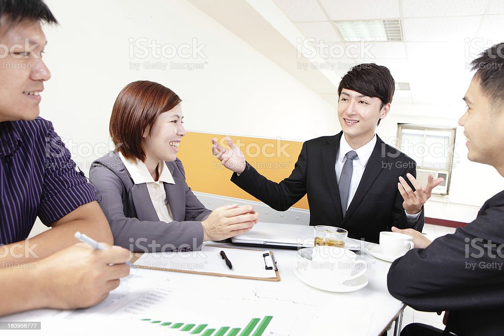 business people group meeting royalty-free stock photo