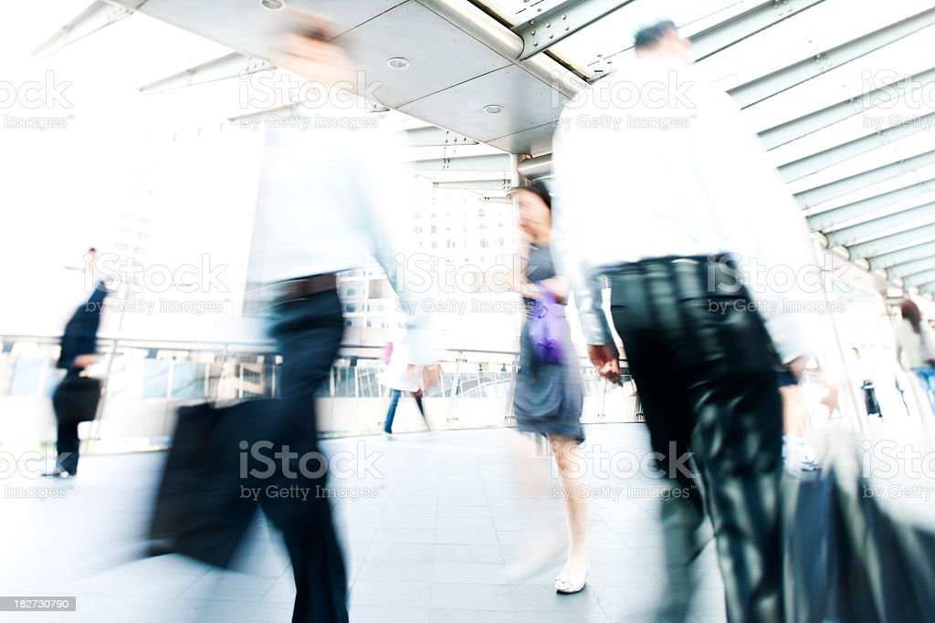 Business People in Asia stock photo