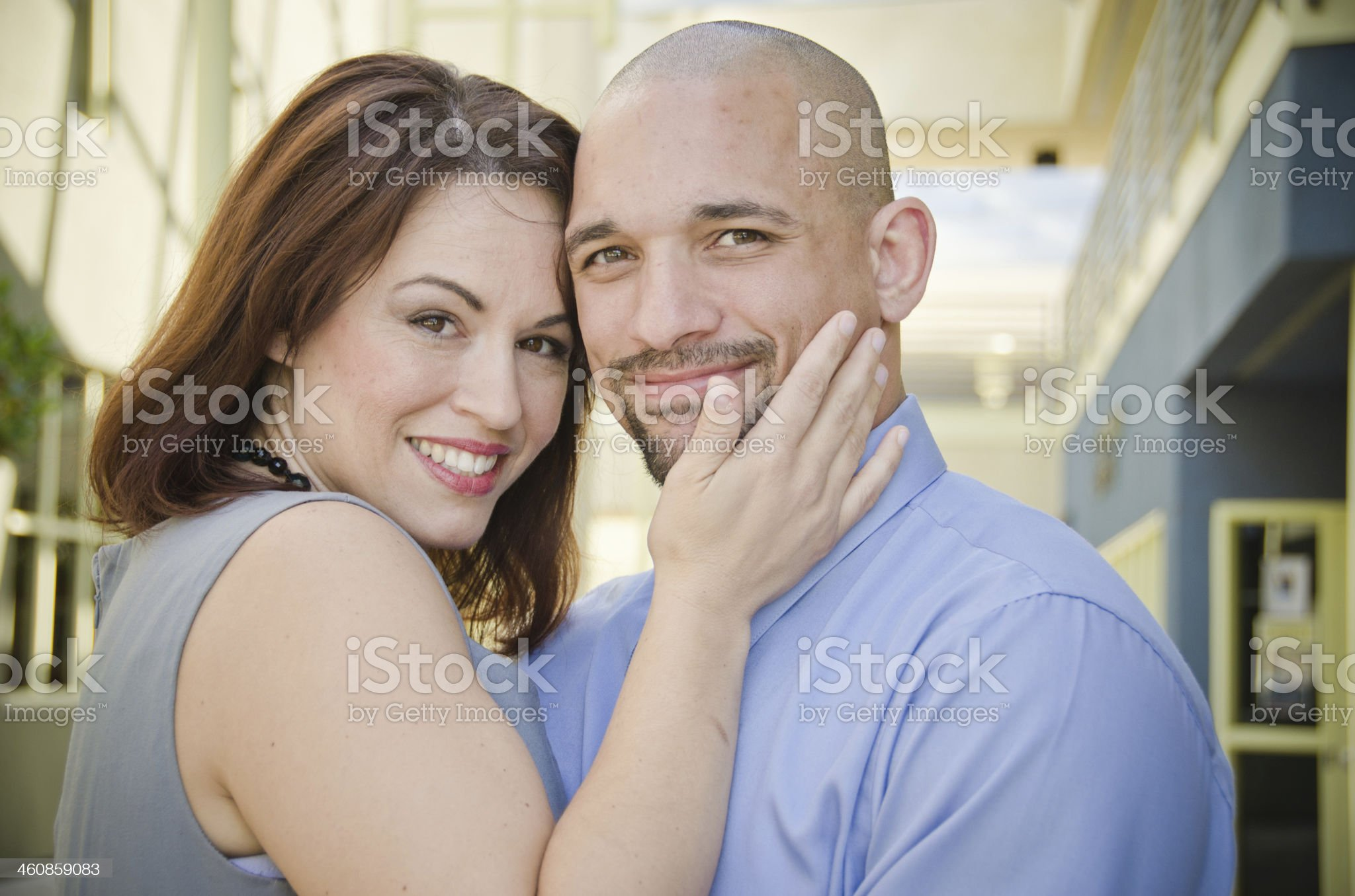 Business People in Love royalty-free stock photo