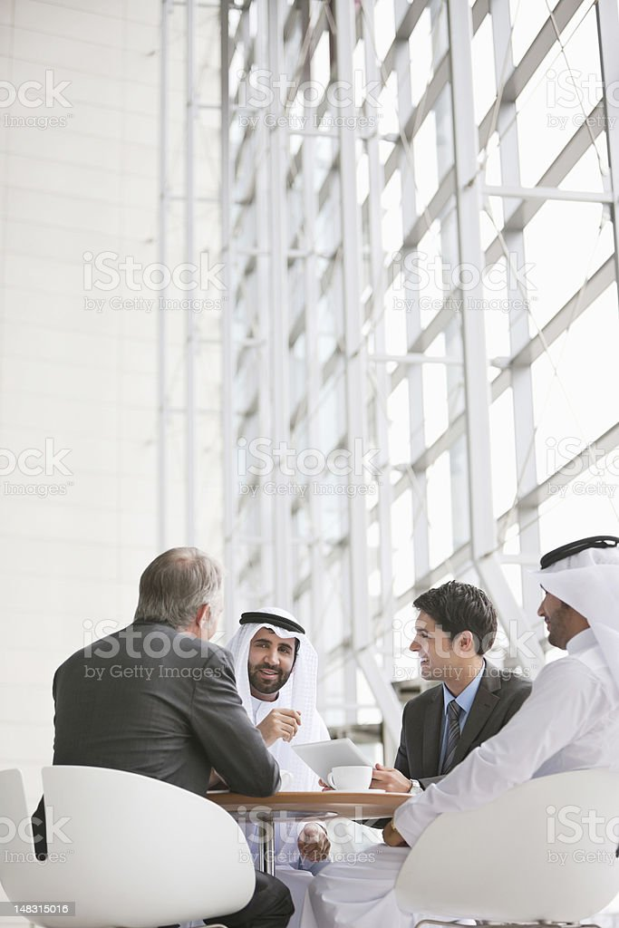 Business people in meeting royalty-free stock photo