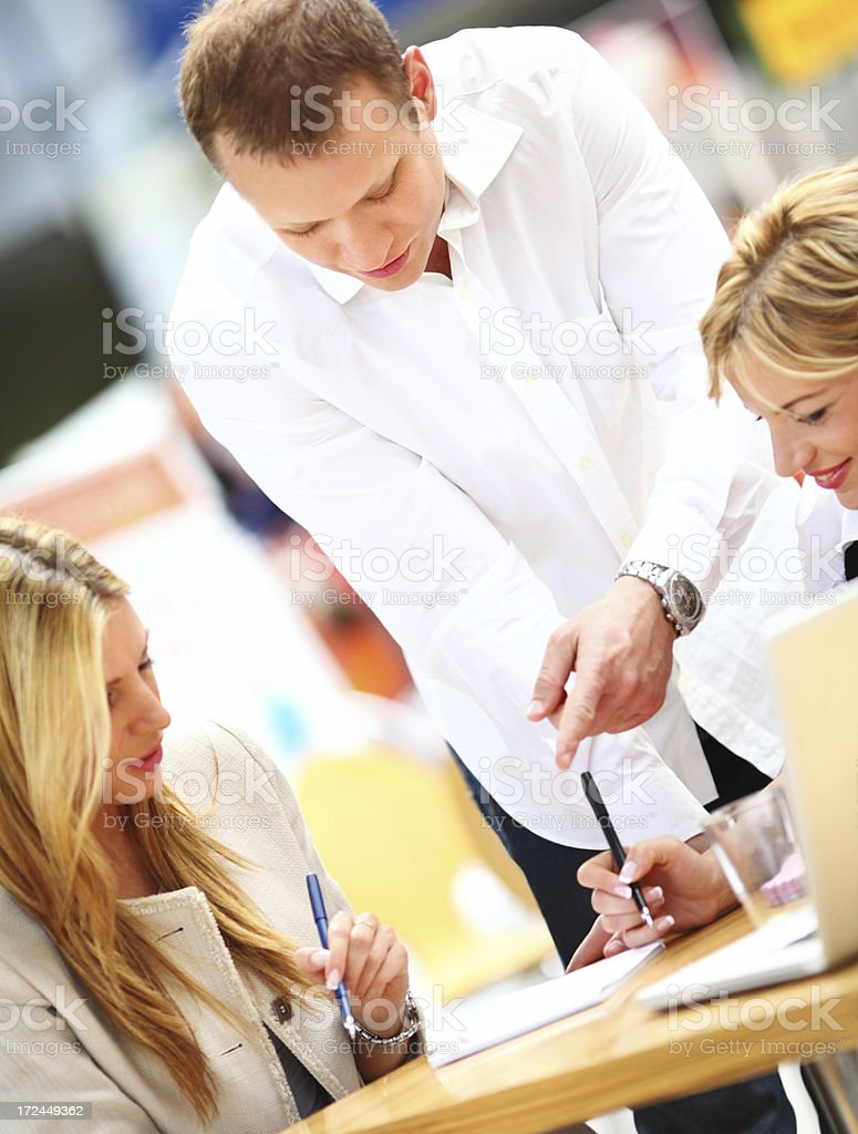 Business people in meeting. royalty-free stock photo