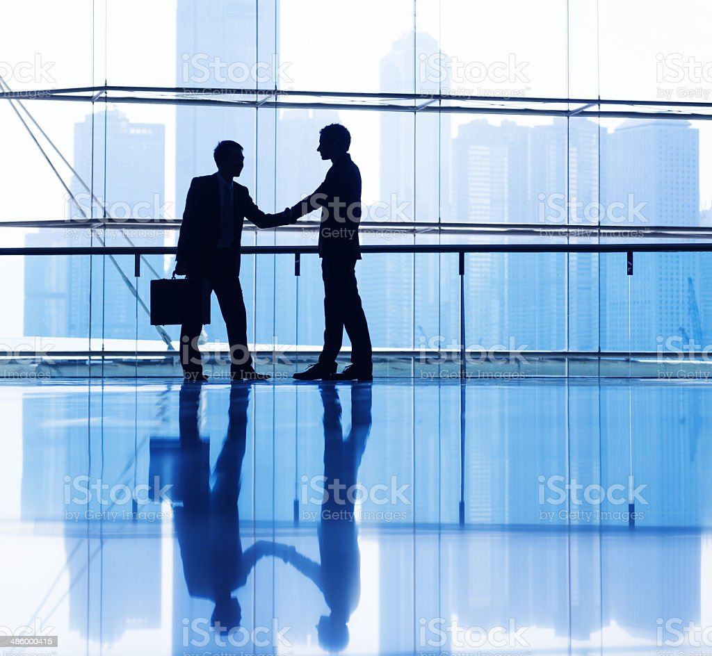 Business People Making Agreement stock photo