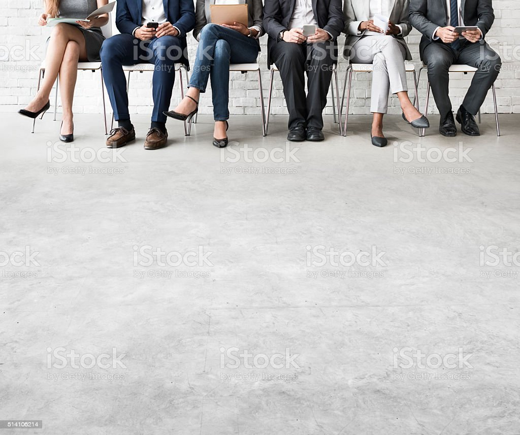 Business People Meeting Corporate Digital Device Connection Conc stock photo