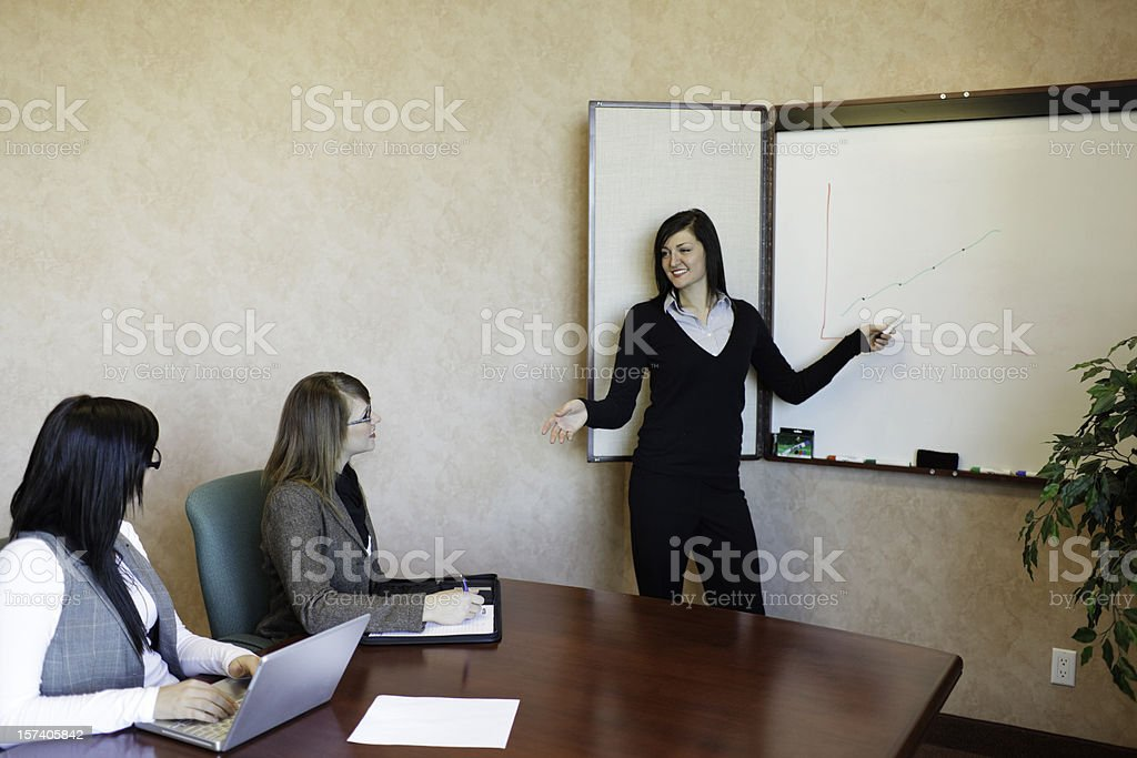 Business People Meeting royalty-free stock photo