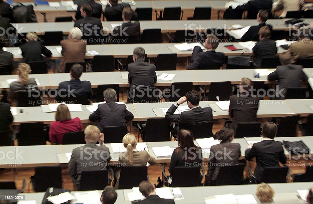 Business People - Meeting royalty-free stock photo