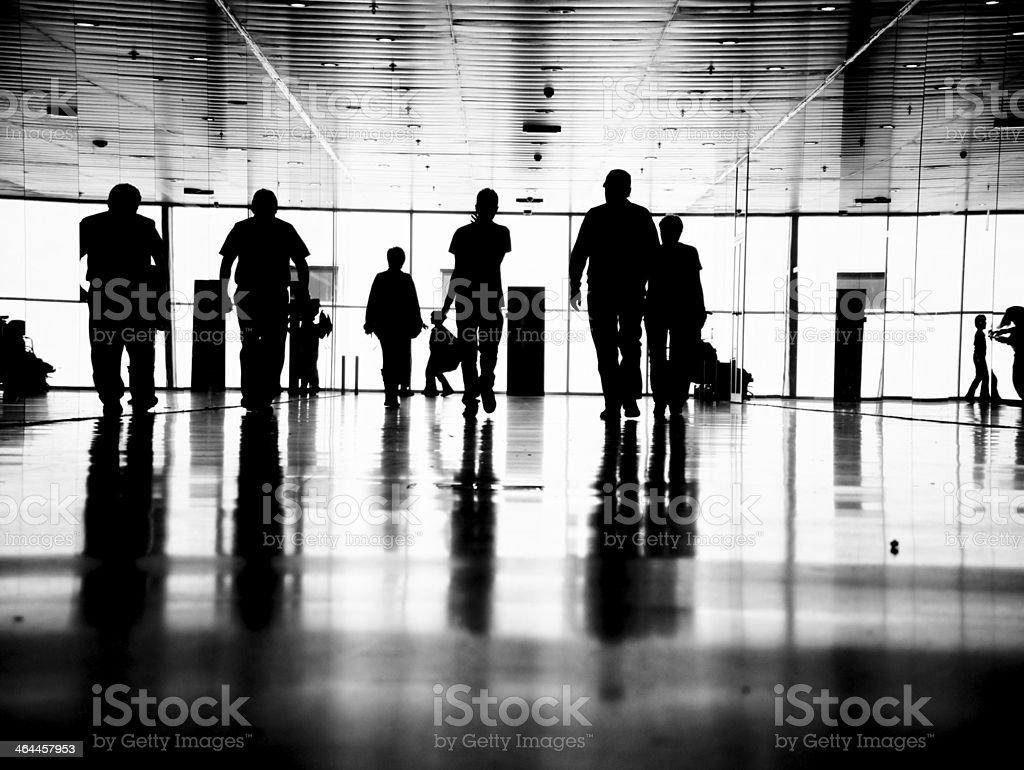 business people pedestrian stock photo