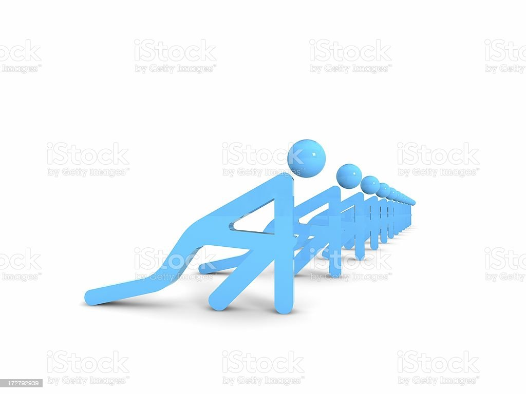 business people (success concept) stock photo