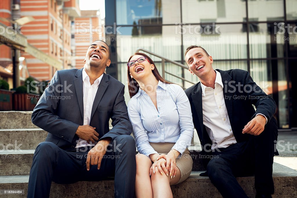 Business people. stock photo