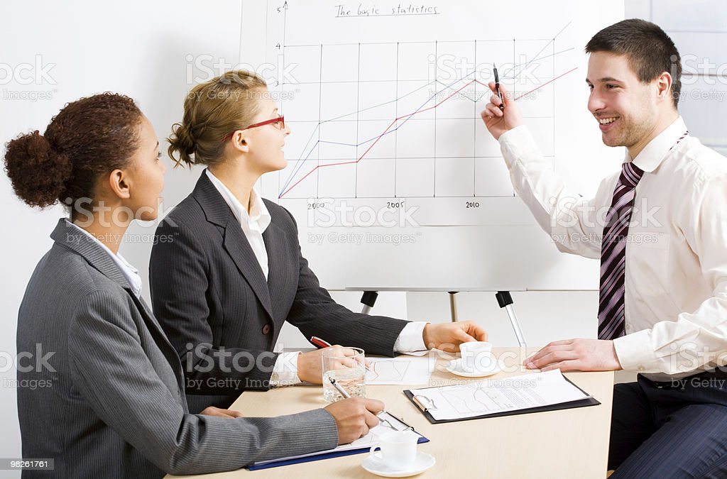 business people royalty-free stock photo