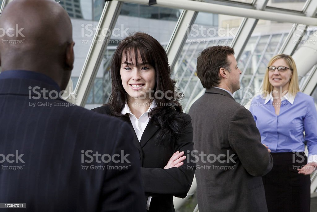 business people portraits royalty-free stock photo