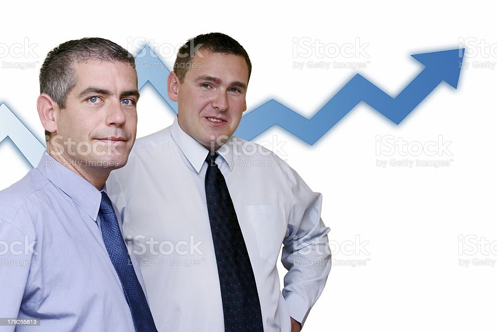Business People - Profits Growing royalty-free stock photo