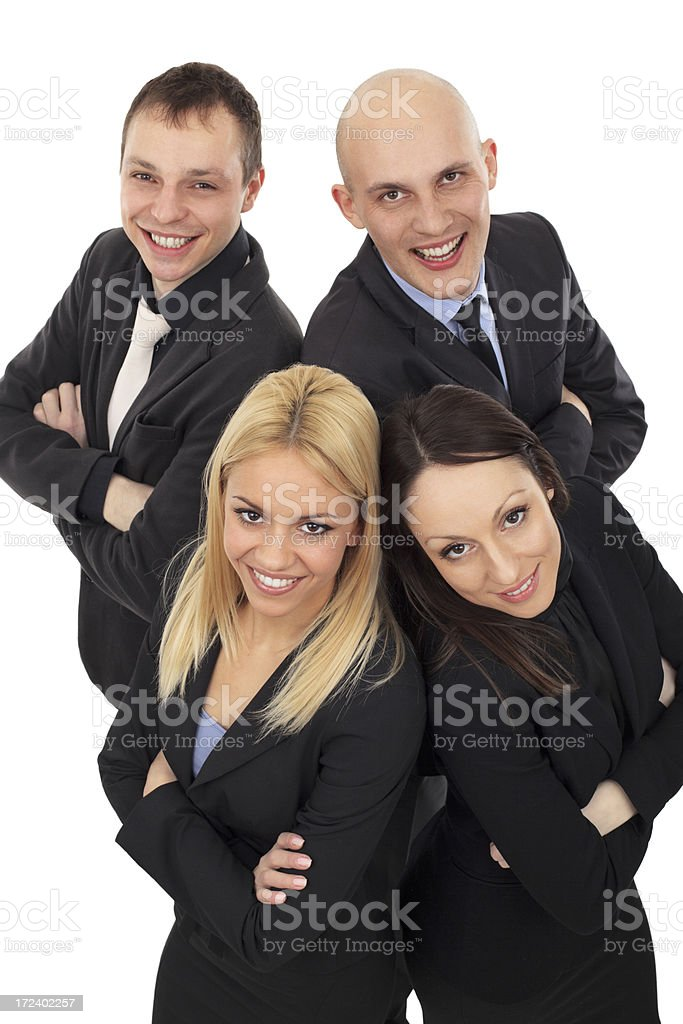 Business people team royalty-free stock photo