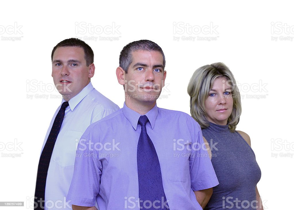 Business People - Together royalty-free stock photo