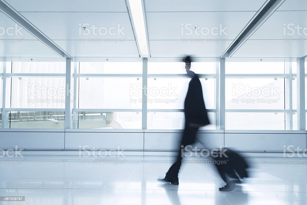 Business people traveling royalty-free stock photo