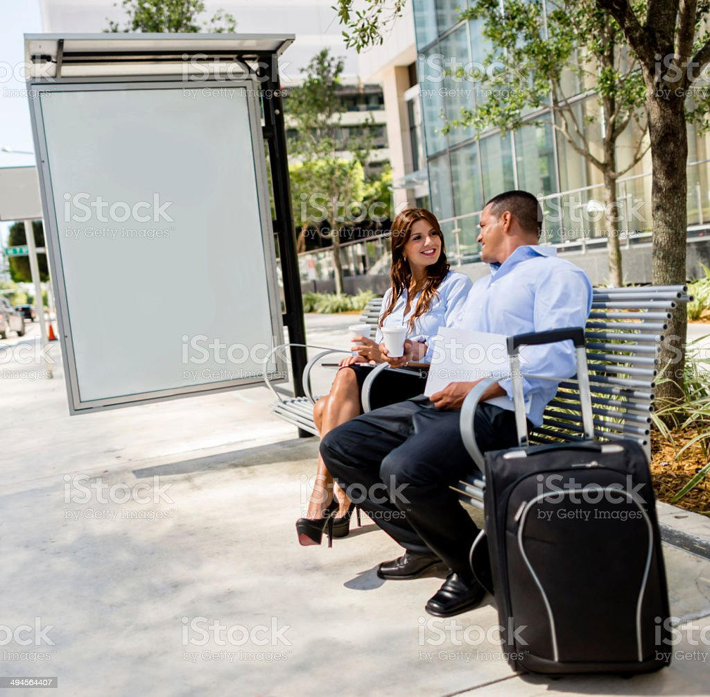 Business people travelling stock photo