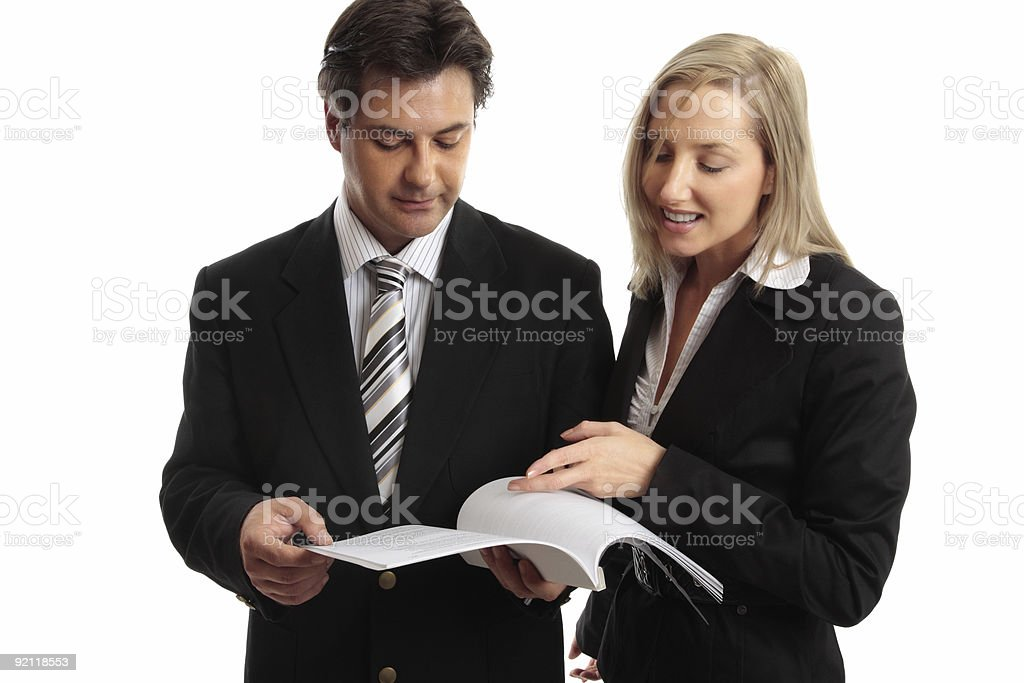 Business people work colleagues royalty-free stock photo