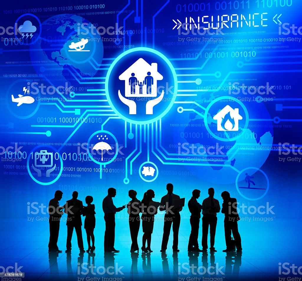 Business People Working and Insurance Concepts