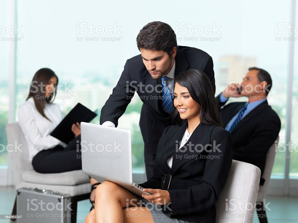 Business people working royalty-free stock photo