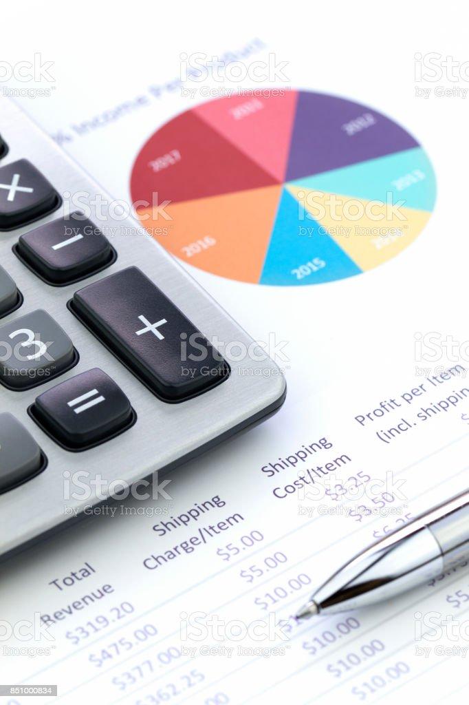 Business Performance Analysis stock photo