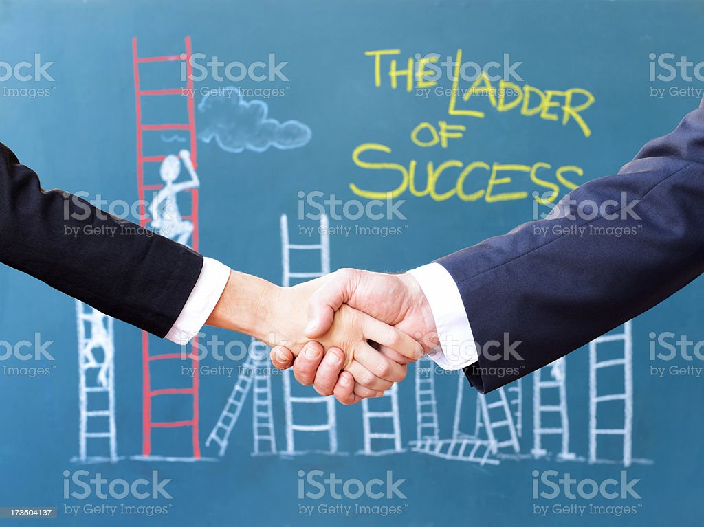 Business Person Handshake royalty-free stock photo