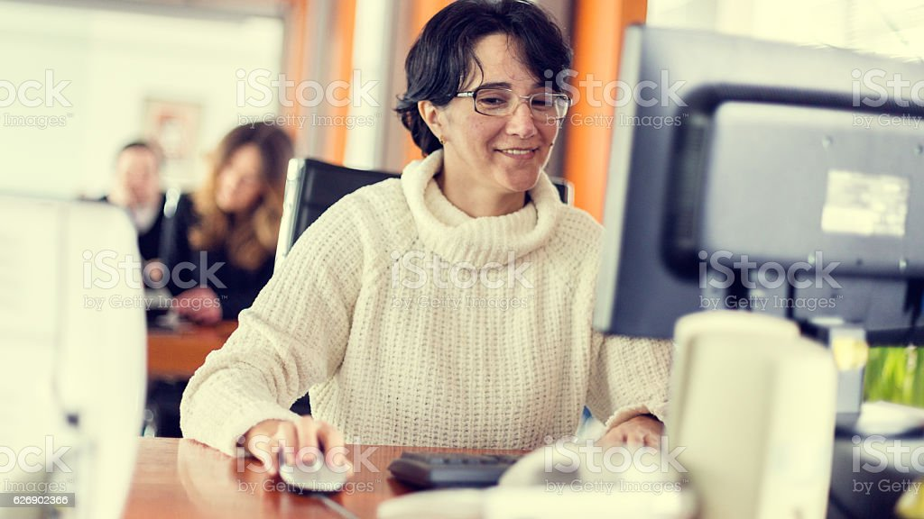 Business person stock photo