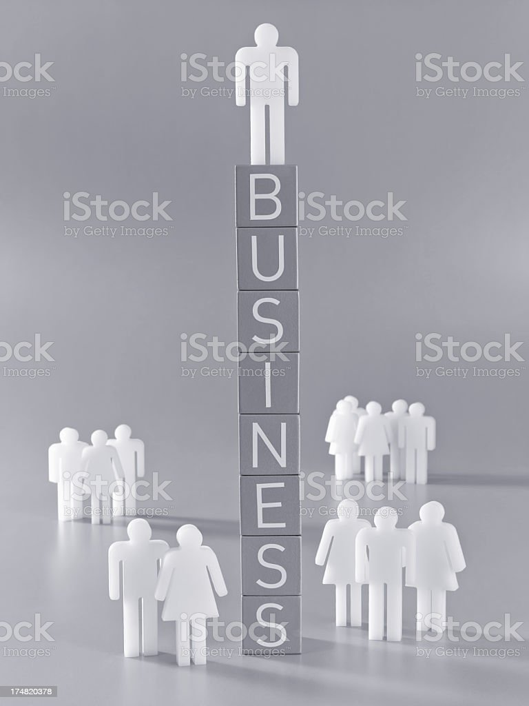 Business(man version) royalty-free stock photo