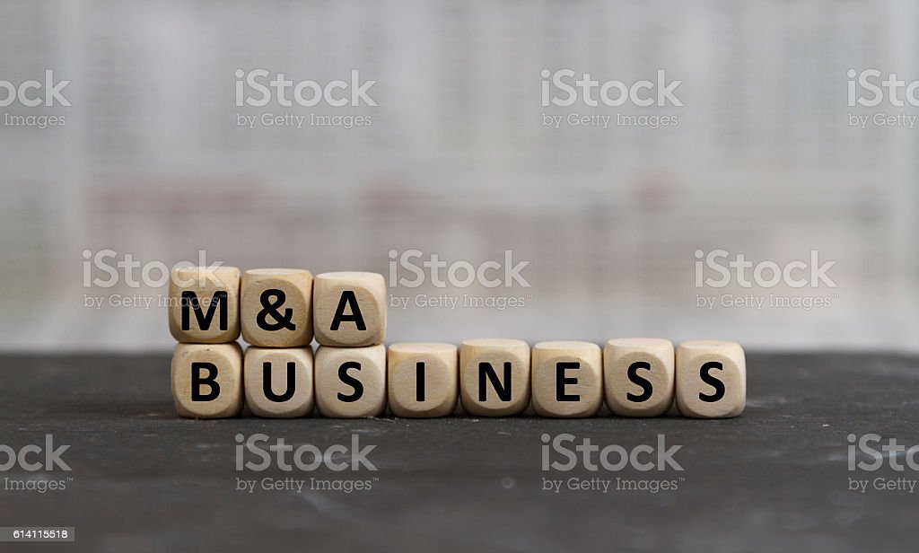 M&A Business stock photo