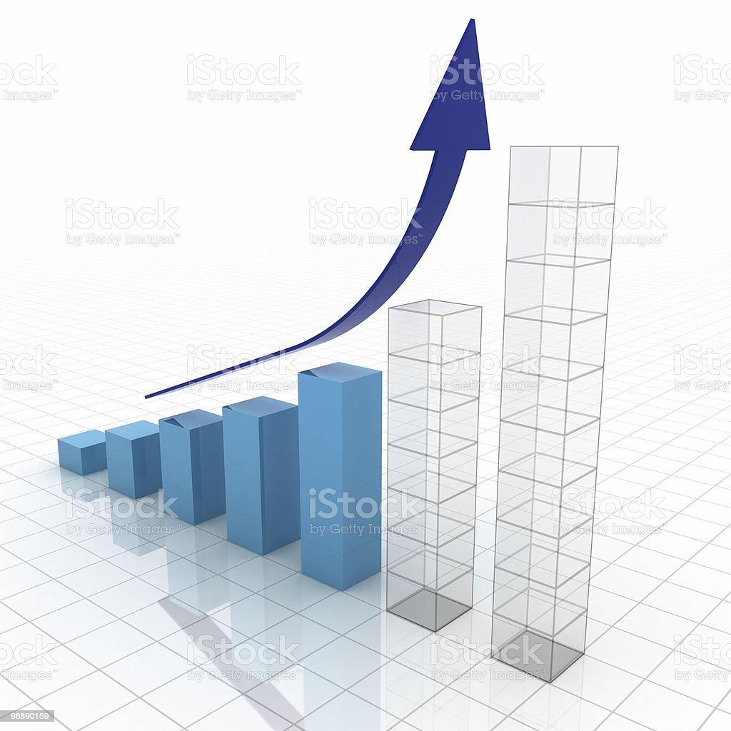 Business Plan Graph stock photo