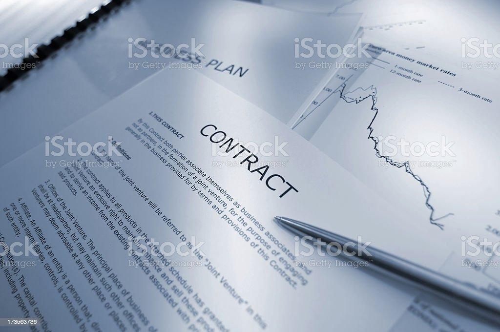 business plan series royalty-free stock photo