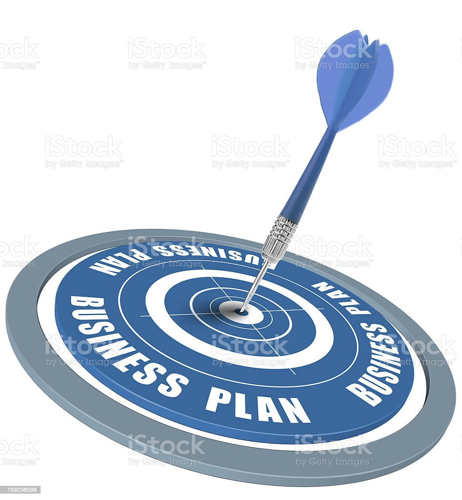 Business plan success royalty-free stock photo