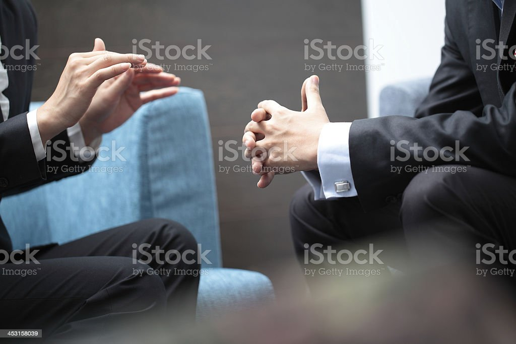 Business Planning Meeting stock photo
