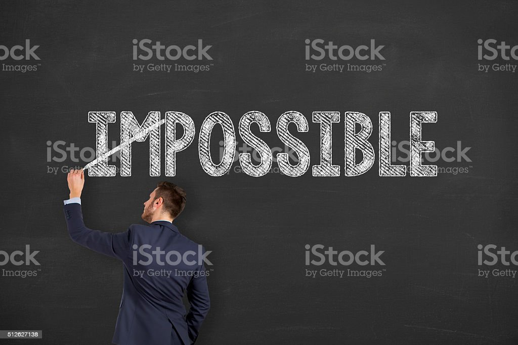 Business Possible Concept stock photo