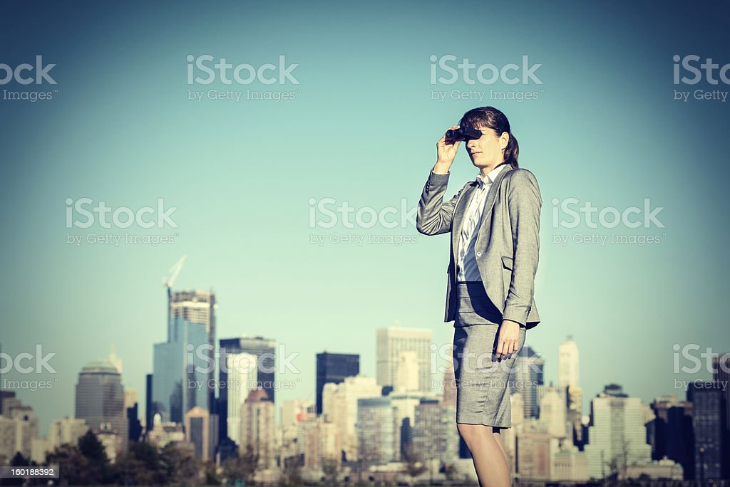 Business Prediction stock photo