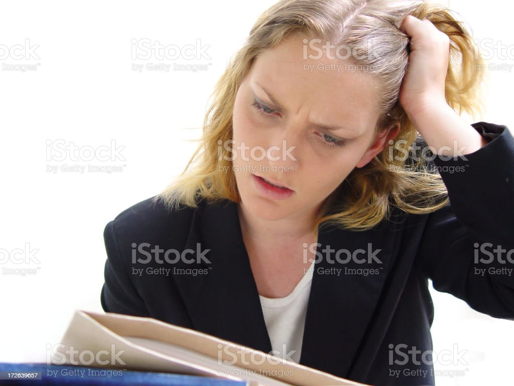 Business Problems royalty-free stock photo