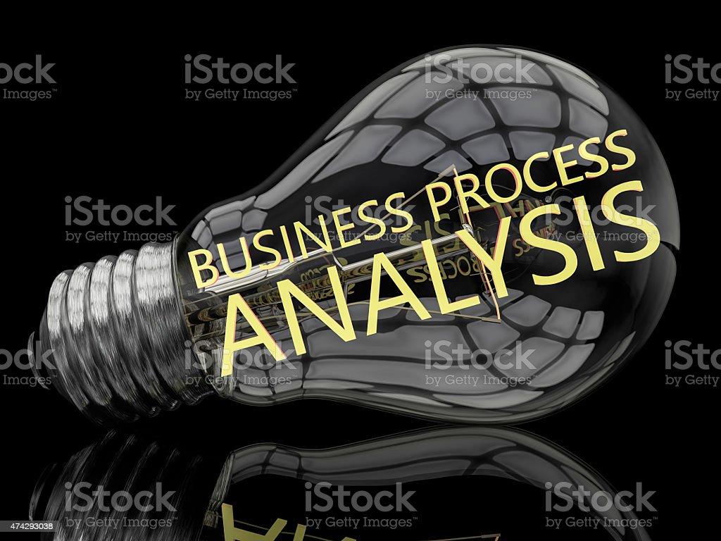 Business Process Analysis stock photo