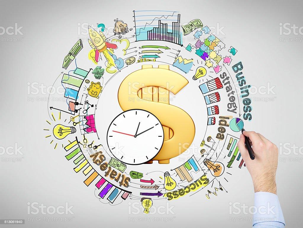 Business process stock photo
