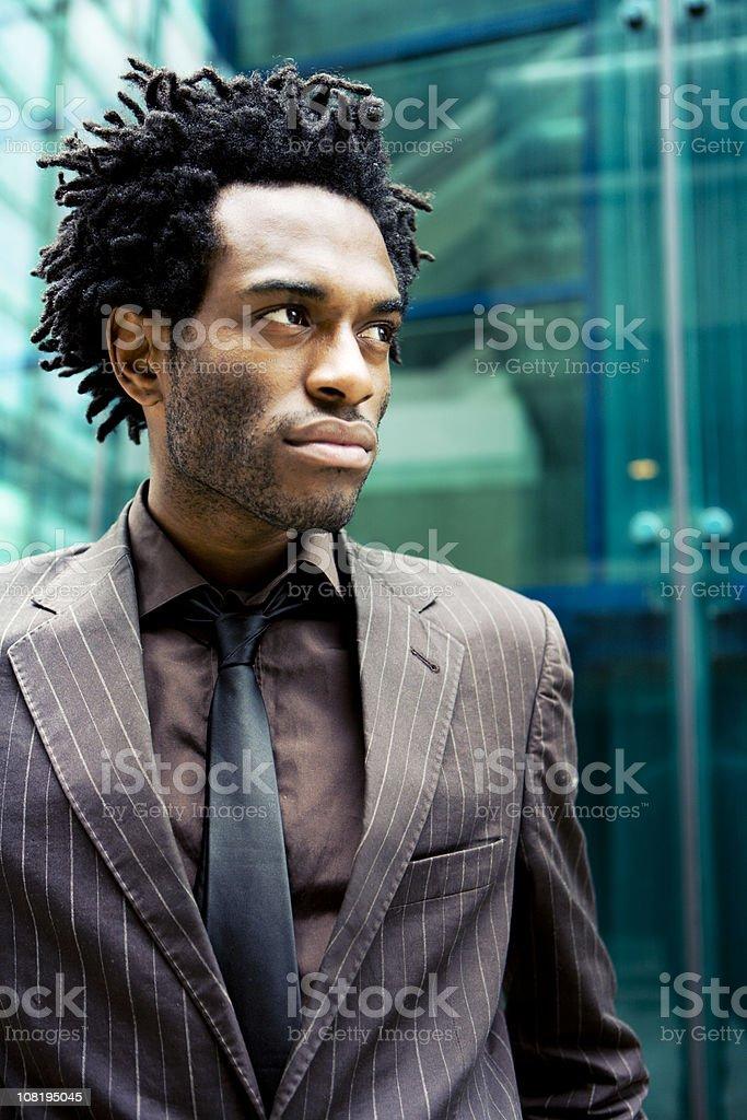 business profile stock photo